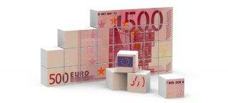 Bild eines 500 Euro Scheins.