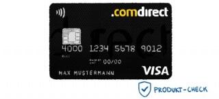 Die Comdirect Visa-Karte