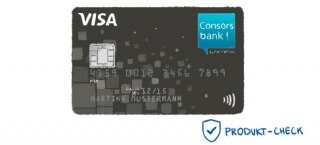 Die VISA-Karte der Consorsbank