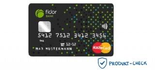 Die Kreditkarte der Fidor Bank