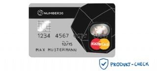 Die Kreditkarte von Number26
