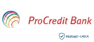 Das Logo der ProCredit Bank