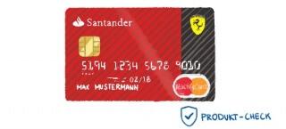Die Ferrari Card der Santander Consumer Bank