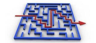 Wir haben den Ausweg aus dem Labyrinth