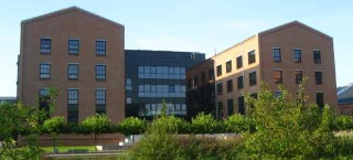 Barclaycard Gebäude im Otto-von-Bahrenpark