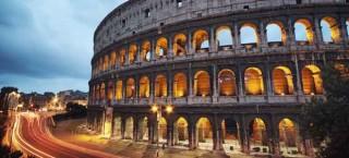 Das Colosseum in Rom