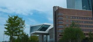 Ansicht des Sitz der EZB in Frankfurt