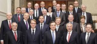 Der Rat der EZB im Juni 2016