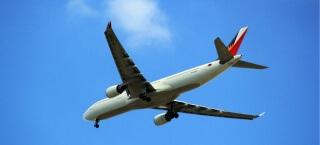 Mit dem Flugzeug um die Welt