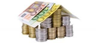 Der hypothekenkredit garantiert günstige Zinsen