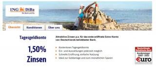 Angebot der ING-DiBa im Februar 2014
