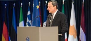 Mario Draghi im März 2015