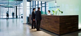 Mercedes-Benz Bank Foyer