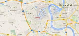 Die Stadt Neuss bei google maps