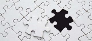 Das richtige puzzle-Stück finden