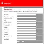 Zielseite einer Phishing Mail