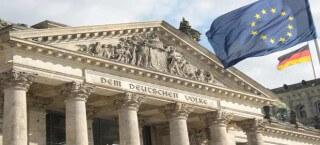 Reichstagsgebäude - der deutsche Bundestag