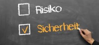 Sicherheit ist den Deutschen bei der Geldanlage sehr wichtig
