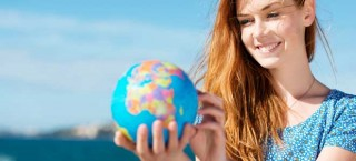 Studentin - ihr steht die Welt offen