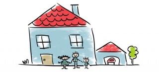So funktioniert der Wohnkredit